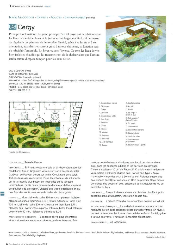 Publication projet Cergy lauriers bois