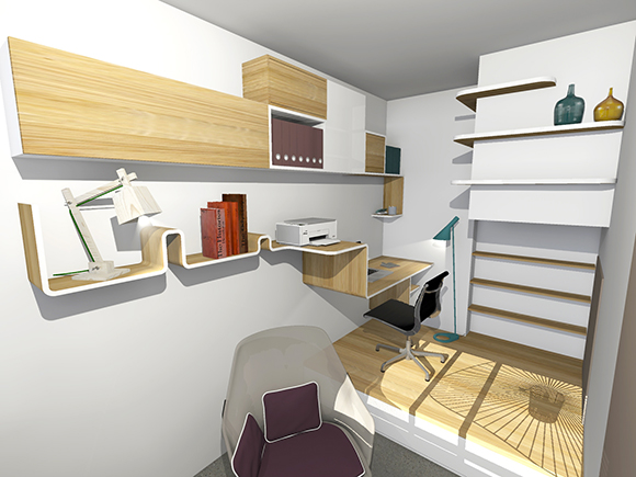 Reve 39 l architecture bureau versatile for Bureau estrade
